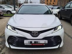 Аренда Toyota Camry 2019 белый автомат