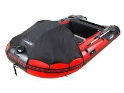 Моторная лодка ПВХ Gladiator E330 Air с НДНД красно-черный