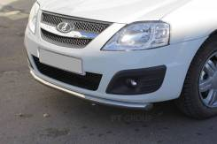 Защита переднего бампера одинарная ?51 мм (НПС) LADA Largus с 2012