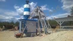 Мини БРУ бетонный завод (приобъектная БСУ)