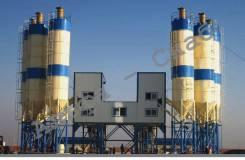 Бетонный завод (БРУ, БСУ) 240 куб. м 2 HZS 120