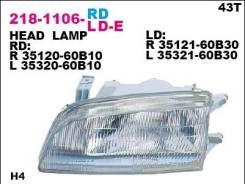 Фара передн лев DEPO 218-1106L-LD-E