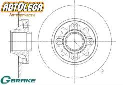 Диск тормозной зад. G-brake Citroen C4 II 11-/DS4 11-/Peugeot 308 07-