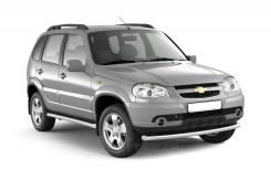 Защита порогов вогнутая 76 мм Chevrolet NIVA с 2009-2020 в наличии