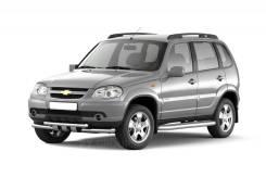 "Рейлинги ""Комфорт"" на Chevrolet NIVA 2002-20 / LADA NIVA 2020"
