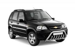 """Рейлинги """"Усиленные"""" на Chevrolet NIVA с 2002-02 / LADA NIVA 2020"""