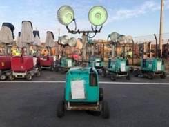 Продам мачта освещения(лампы) с генератором для дорожных работ
