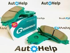Колодки тормозные передние G-Brake GP-03062