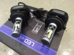 Лампы светодиодные H4 (LED Headlight) 12V 6500K, 4000LM