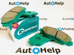 Колодки тормозные передние G-Brake GP-09010
