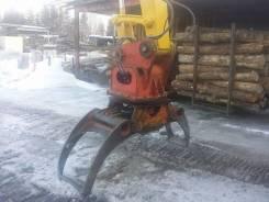 Японский лесозахват для экскаватора 12-25тонн