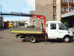Бортовой грузовик Газ-А21R22 (Газель next) с Краном-манипулятором