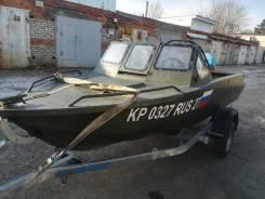 Продам моторную лодку Север4200