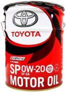 Toyota Motor OIL SP 0W-20 GF-6A (20L) 08880-13203