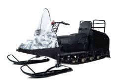 Мини - снегоход Бурлак Егерь White 15 л. с. (эл. запуск, реверс, тормоз) (машинокомплект)