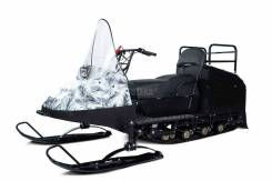 Мини - снегоход Бурлак Егерь White 18.5 л. с. (эл. запуск, реверс, тормоз) (машинокомплект)