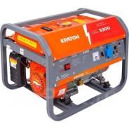 Генератор бензиновый Кратон GG-3300. 3/3,3кВт. 220В. Гарантия.