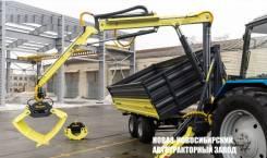 Манипулятор и Полуприцеп DL Agromaster от завода Новаз