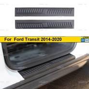 Накладки на внутренние пороги передних дверей Ford Transit 2014-
