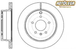 Диск тормозной задний G-brake OPEL Antara 06- / Chevrolet Captiva 06-