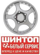 16х7.0 6*139.7 ET-0 D109.1 диск литой СКАД Россия Титан селена