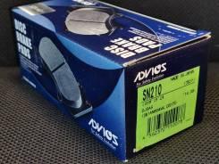 Дисковые тормозные колодки Demio 2014- Advics SN210 . В наличии
