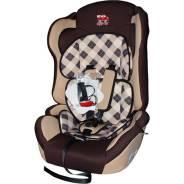 Детское кресло Little Car Comfort клетка-коричневый Little Car