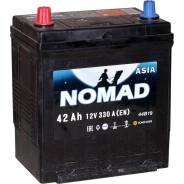 Аккумулятор легковой «Nomad» Asia 42Ач п/п B19R Nomad