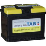 Аккумулятор легковой TAB EFB STOP&GO (60Ач о/п) Tab