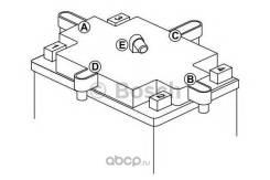 Аккумулятор для мототехники Bosch MOBA AGM M6 12V 7AH 110A (YTZ7S-4/YTZ7S-BS) 113x70x105mm 2.27kg Bosch 0092M60090