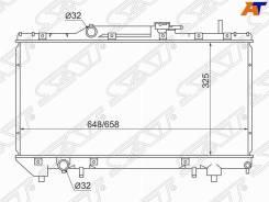 Радиатор основной SAT TY0002-AT190