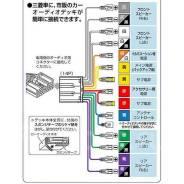 Адаптер переходник (фишка) магнитолы для авто Mitsubishi