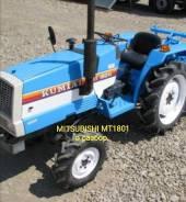 Японский мини трактор Mitsubishi MT1801 на запчасти.