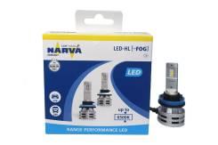 Лампы светодиодные Narva LED H11, 6500K. Диод. Комплект