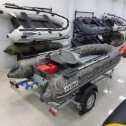 Надувная лодка ПВХ, Hydra NOVA 400 НДНД, камуфляж, LUX