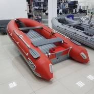Надувная лодка ПВХ, Hydra NOVA 420 НДНД, красный, LUX