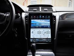 Штатная магнитола в стиле Tesla для Toyota Camry 55 (2014+)