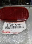 Отражатель бампера заднего Toyota