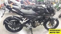 Мотоцикл Bajaj Pulsar 200 NS черный, оф.дилер МОТО-ТЕХ, Томск