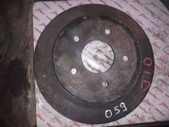 Диск тормозной задний Nissan Qashqai J10