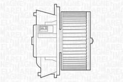 Вентилятор отопителя FIAT Punto/Doblo 99- 1.2/1.8/1.9DS/JTD 069412504010