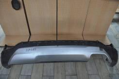 Накладка заднего бампера Hyundai Santa FE