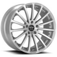 Avarus Av6 10x20 5x114,3 et45 79,5 silver machined w/clearcoat