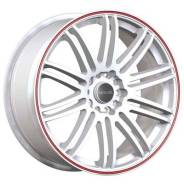 Tenzo Racing Tenspec 8x18 5x114,3 et45 73 matte white w/red stripe