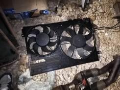 Рамка для двух вентиляторов в сборе с вентиляторами passat B6