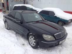 Запчасти Mercedes benz w220 s-класс
