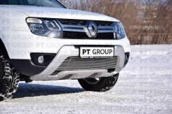 Накладка на решетку бампера 10 мм Renault Duster 2016- в наличии