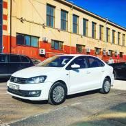 Аренда Volkswagen Polo 2016 Белый автомат