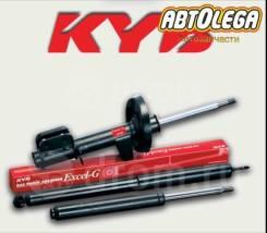 Стойка передняя левая ГМ. Excel-G KYB Nissan X-Trail PNT30 T30 NT30