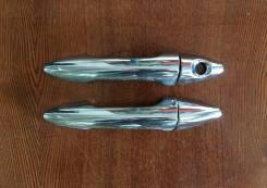 Хром-накладка левой ручки двери Hyundai Solaris [2011-2016]